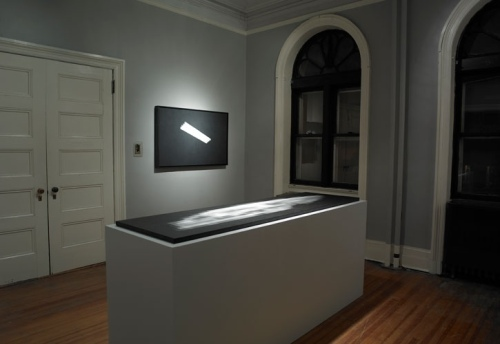 All Memories Are Traces of Tears from What Is and What Will Never Be (Installation View) by Brian Higbee