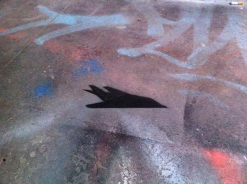 F-117 Stencil